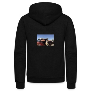 Hot rod - Unisex Fleece Zip Hoodie