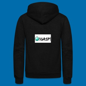 Diamond Gasp! - Unisex Fleece Zip Hoodie