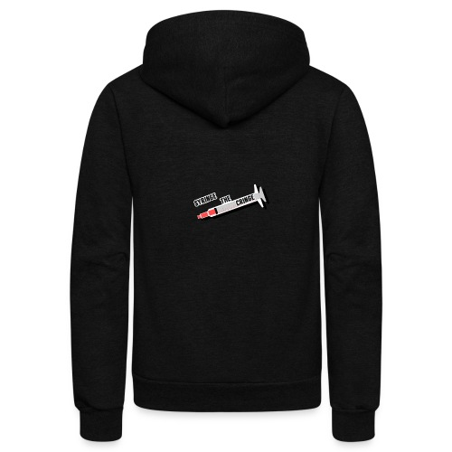 syringe the cringe - Unisex Fleece Zip Hoodie