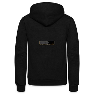 Hustle_Life - Unisex Fleece Zip Hoodie by American Apparel