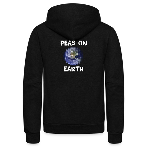 Peas on Earth! - Unisex Fleece Zip Hoodie