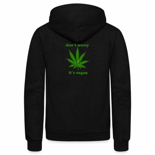 weed crap - Unisex Fleece Zip Hoodie