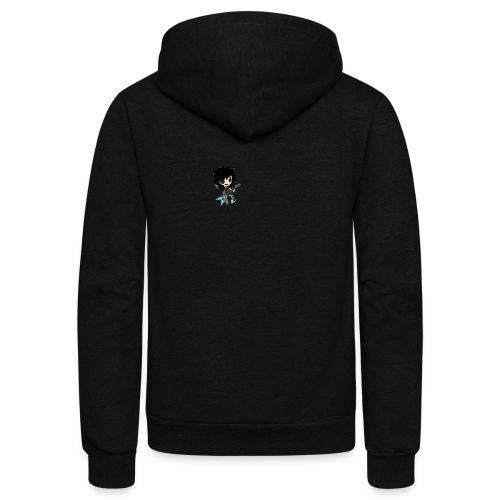 axelofabyss self portrait - Unisex Fleece Zip Hoodie