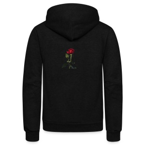 Rose gooo - Unisex Fleece Zip Hoodie