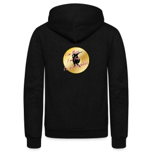 Indie Artist (Rapper/Hip Hop) - Unisex Fleece Zip Hoodie by American Apparel