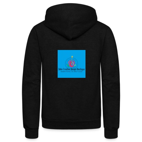 Debs Creative Design Boutique 1 - Unisex Fleece Zip Hoodie