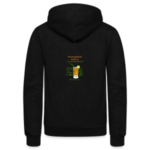 Schlong Island Iced Tea - Unisex Fleece Zip Hoodie