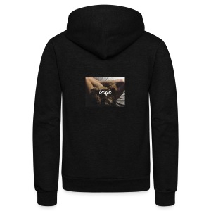 Doge - Unisex Fleece Zip Hoodie by American Apparel