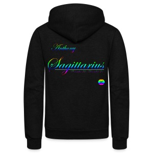 Anthony - Unisex Fleece Zip Hoodie