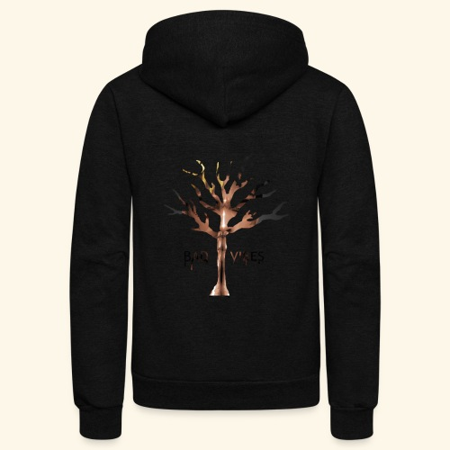 xxxtentacion tree - Unisex Fleece Zip Hoodie