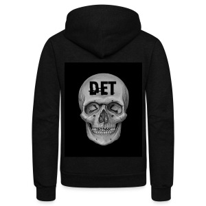 DET Skeleton - Unisex Fleece Zip Hoodie