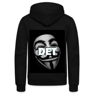 DET Companies Clothing - Unisex Fleece Zip Hoodie