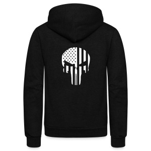 punisher - Unisex Fleece Zip Hoodie