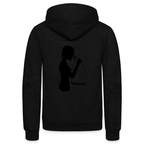 flower girl - Unisex Fleece Zip Hoodie