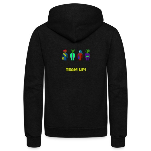 Spaceteam Team Up! - Unisex Fleece Zip Hoodie