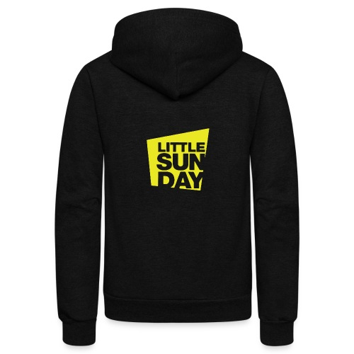 littleSUNDAY Official Logo - Unisex Fleece Zip Hoodie