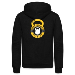 Bring your Body - Unisex Fleece Zip Hoodie