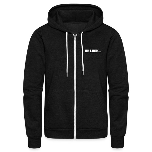 Jim Is Wrong - Unisex Fleece Zip Hoodie