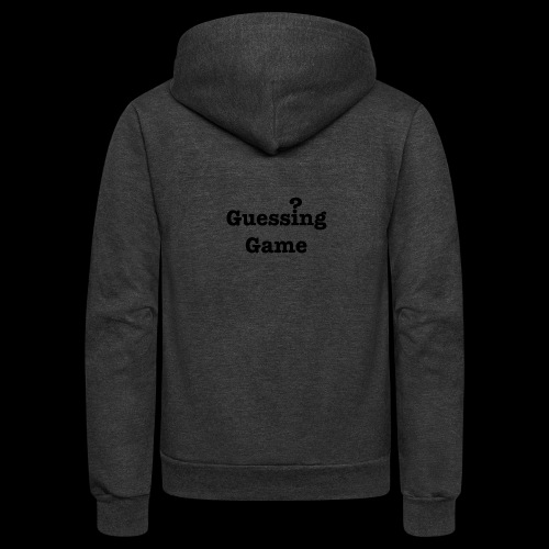 Question - Unisex Fleece Zip Hoodie
