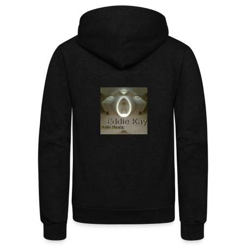 Eddie Kay Throne Halo - Unisex Fleece Zip Hoodie