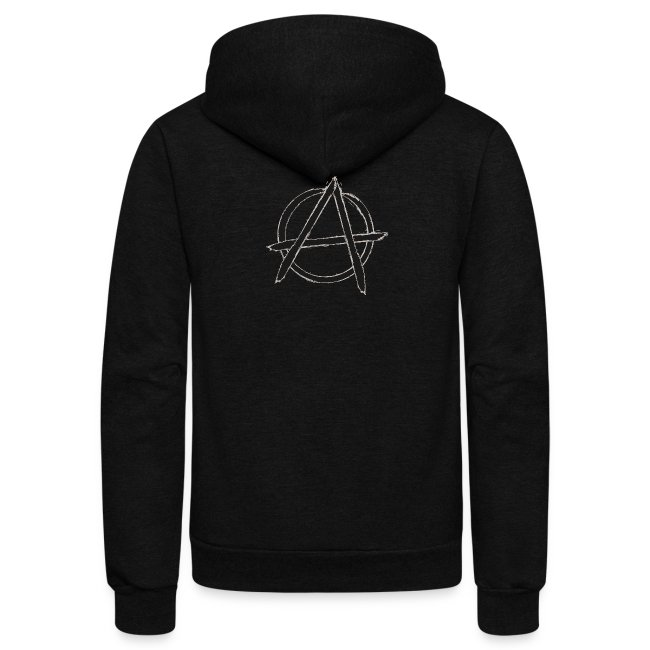 Anarchy in black silver
