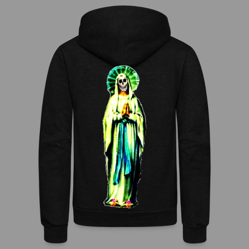 Cult Of Santa Muerte - Unisex Fleece Zip Hoodie