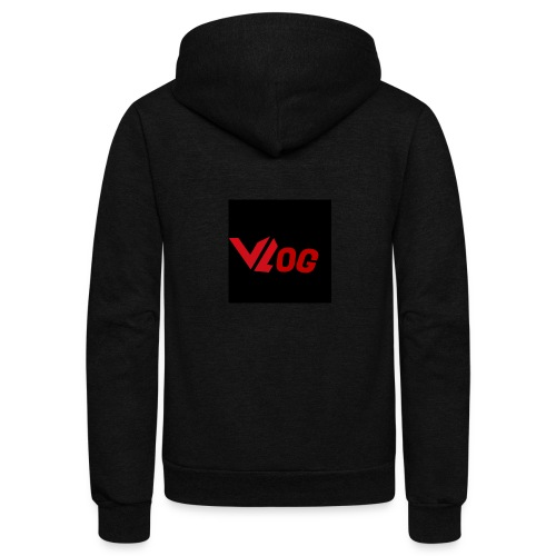 Vlogger edition part 3 - Unisex Fleece Zip Hoodie