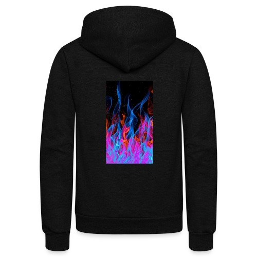 The flame. - Unisex Fleece Zip Hoodie