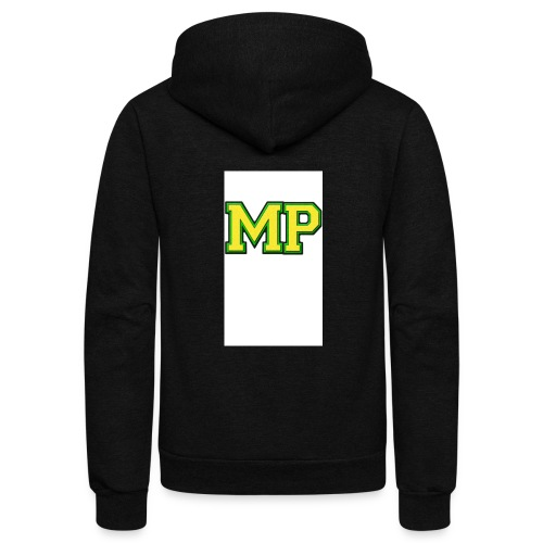 Mp Matthew playz logo long sleeve - Unisex Fleece Zip Hoodie
