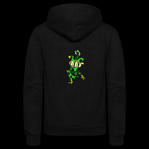 Three-Eyed Alien - Unisex Fleece Zip Hoodie