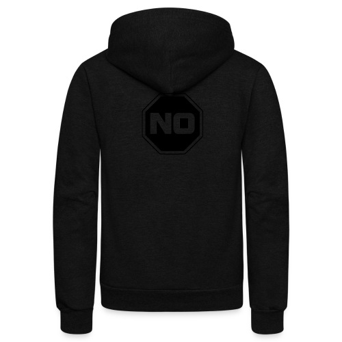 stopp say no - Unisex Fleece Zip Hoodie
