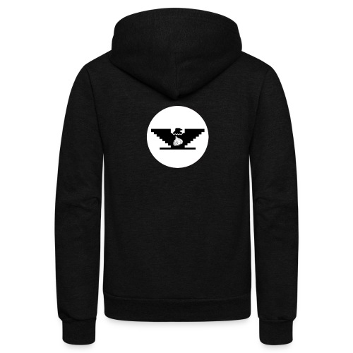 Garlic Huelga Bird - Unisex Fleece Zip Hoodie
