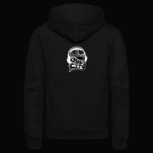Blackout Oye City - Unisex Fleece Zip Hoodie