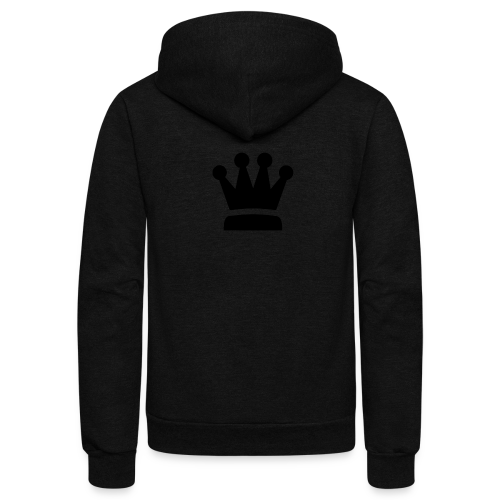 4 Star Crown - Unisex Fleece Zip Hoodie