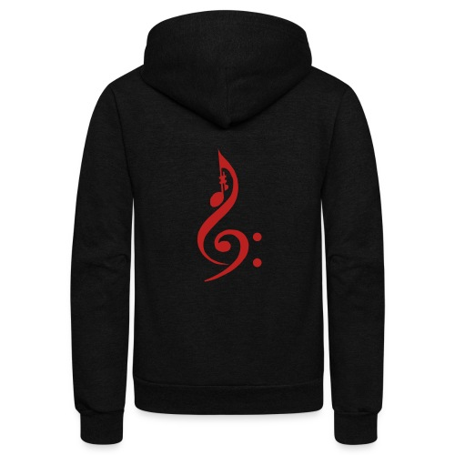 Red Key - Unisex Fleece Zip Hoodie