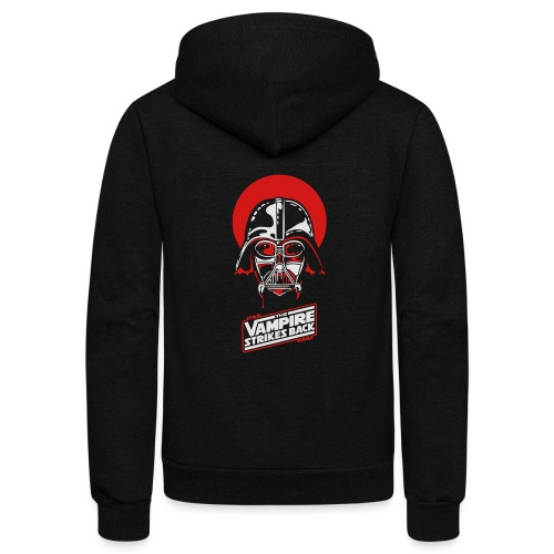 the Vampire Strikes Back - Unisex Fleece Zip Hoodie