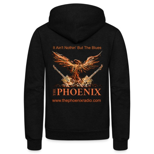 The Phoenix Radio - Unisex Fleece Zip Hoodie