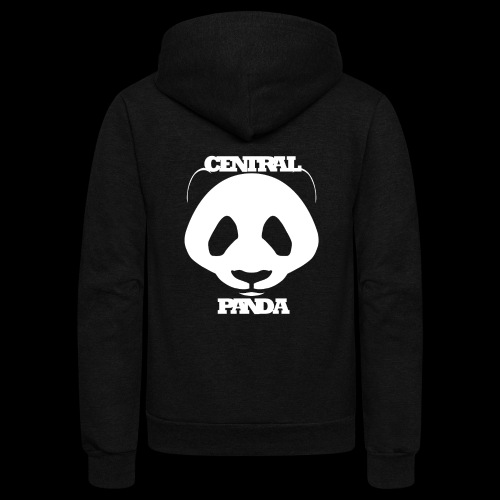 Central Panda - Unisex Fleece Zip Hoodie