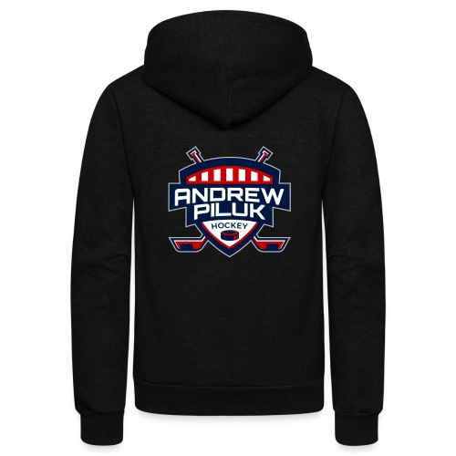 Andrew Piluk Hockey - Unisex Fleece Zip Hoodie