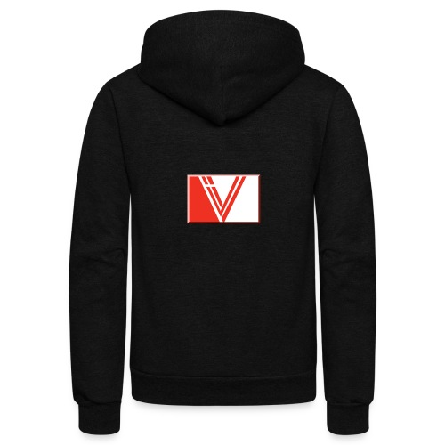 LBV red drop - Unisex Fleece Zip Hoodie