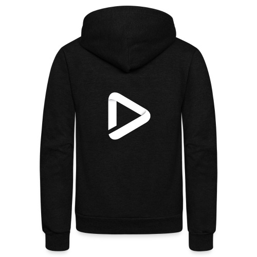 Destiny Natin logo - Unisex Fleece Zip Hoodie