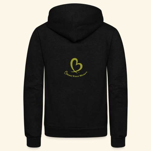 Bless Your Heart® Yellow - Unisex Fleece Zip Hoodie