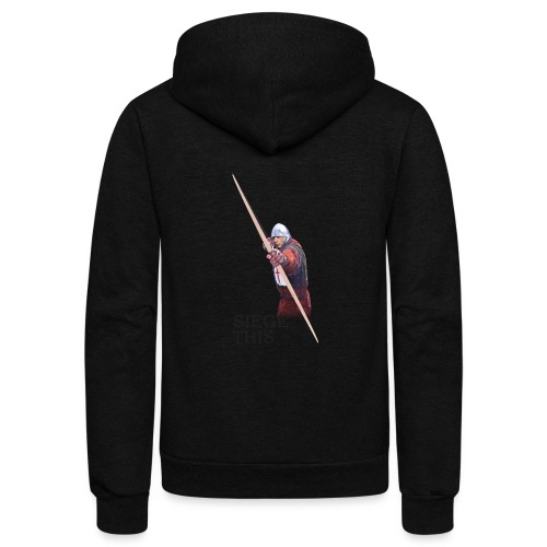 Siege This Mens standard T - Unisex Fleece Zip Hoodie