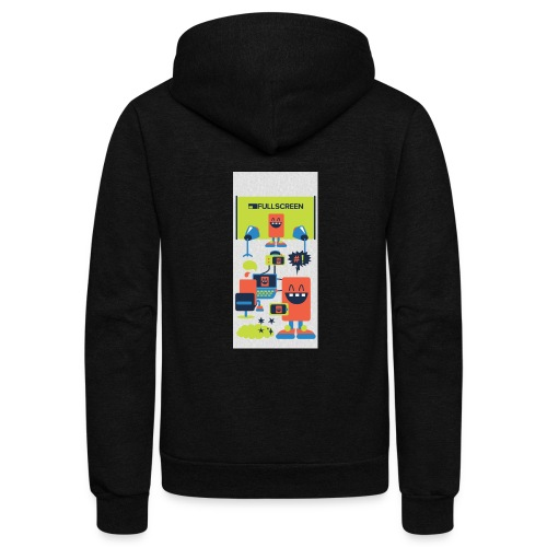 iphone5screenbots - Unisex Fleece Zip Hoodie