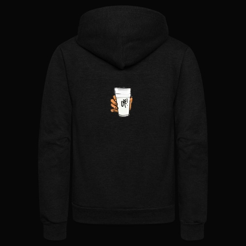 Double Cup Oye City - Unisex Fleece Zip Hoodie