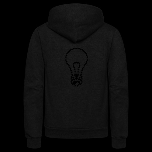 lightbulb - Unisex Fleece Zip Hoodie