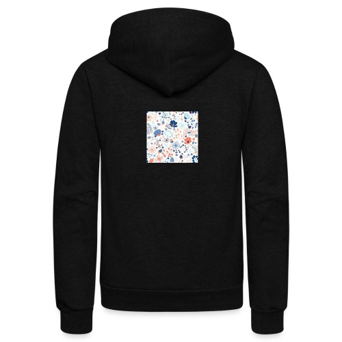 flowers - Unisex Fleece Zip Hoodie