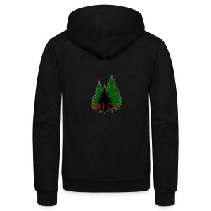 EVERGREEN LOGO - Unisex Fleece Zip Hoodie