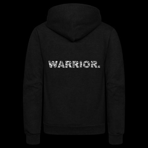 WARRIOR - Unisex Fleece Zip Hoodie