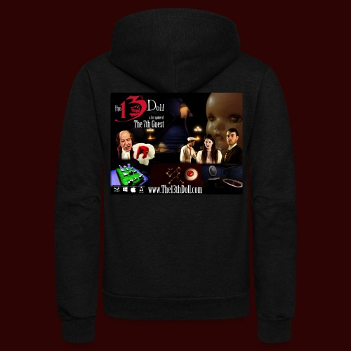 The 13th Doll Cast and Puzzles - Unisex Fleece Zip Hoodie